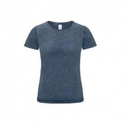T-shirt B&C DNM Editing Women 185g - 100% Algodão