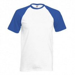 T-shirt Valuweight Baseball T 160g - 100% Algodão