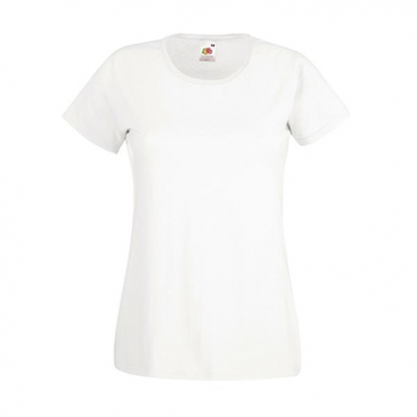 T-shirt Valueweight T Lady-fit 165g - 100% Algodão