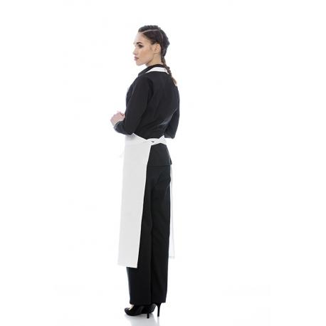 Avental de peito em sarja poliéster-algodão
