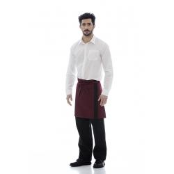 Avental de cintura em sarja 100% poliéster