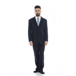 Calça clássica homem em minimate de 230 g/ml 100% poliéster