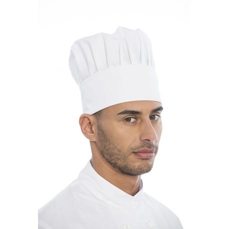 Gorro cozinheiro em sarja poliéster-algodão