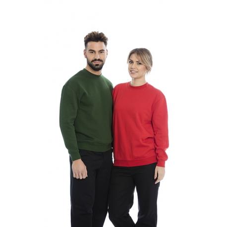 Sweat-shirt em malha cardada 280gr de algodão