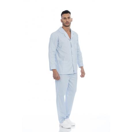 Pijama adulto em pano 100% algodão
