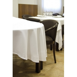 Toalha de mesa redonda em minimate de 230 g/ml 100% poliéster