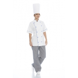 Jaleca cozinheiro em sarja