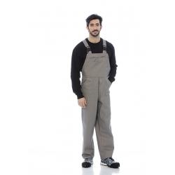 Jardineira homem em sarja 100%algodão