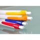 Esferográfica de Plástico, clip em cor