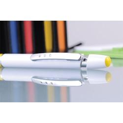 Esferográfica de Plástico, clip de metal
