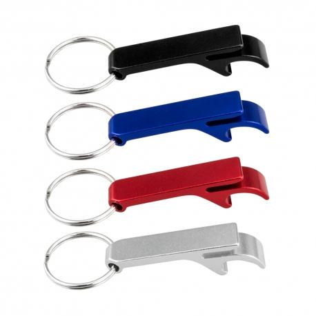 Abre-cápsulas porta-chaves