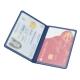 Porta-cartões duplo em PVC