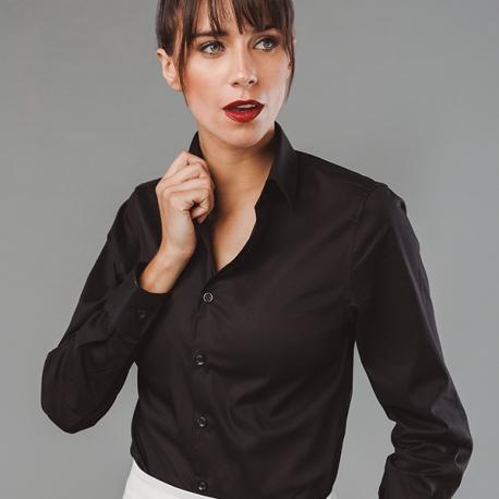 PARIS WOMEN. Camisa popelina para senhora.