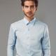 PARIS. Camisa popelina para homem.