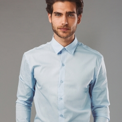 PARIS.Camisa popelina para homem.