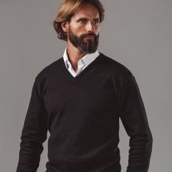 "MILAN. Pullover decote em ""V"" para homem."