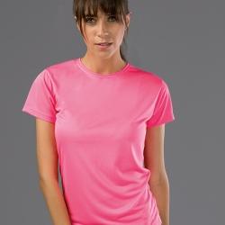 NICOSIA WOMEN. T-shirt técnica para senhora.
