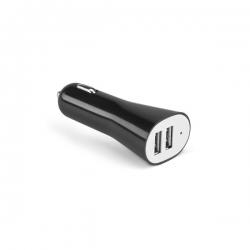 Carregador USB para carro.