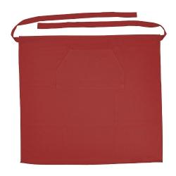 Avental de empregado de mesa, bolso frontal 100% algodão