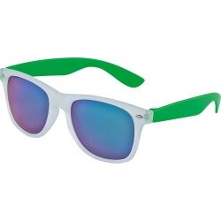 Óculos de sol Glow, lentes espelhadas com proteção UV400