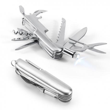 Canivete multifunções.