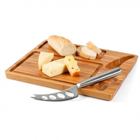 Tábua de queijos.