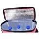 Geleira para garrafas 1,5 Litro com bolsa lateral nylon 210D