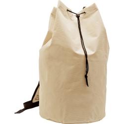 Saco mochila com bolso, em P-600D