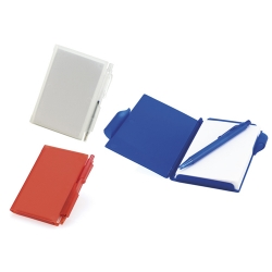 Bloco de notas, capa em PVC