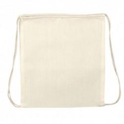 Saco mochila 100% algodão 95g