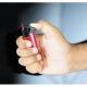 Isqueiro eletrónico recarregável mini, à prova de vento