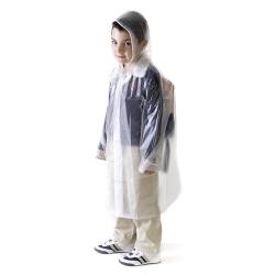 Impermeáveis de criança com bolsa, em PVC 15 mm