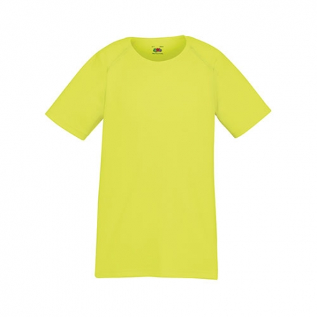 T-shirt Performance T Kids 140g - 100% Poliéster