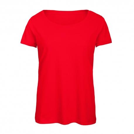 T-shirt Triblend Women 130g - 50% Poliéster / 25% Algodão / 25% Viscose