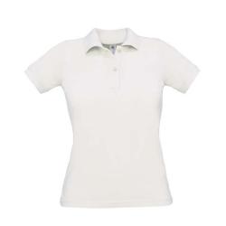 Polo B&C Safran Pure Women 180g - 100% Algodão