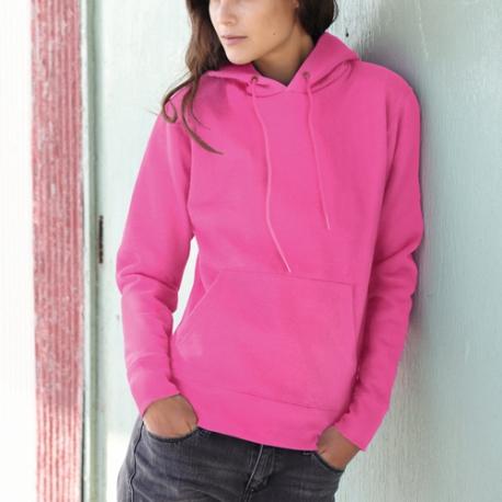 Sweatshirt Classic Hooded Lady-fit 280g - 80% Algodão / 20% Poliéster