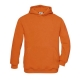 Sweatshirt B&C Hooded Kids 280g - 80% Algodão escovado / 20% Poliéster