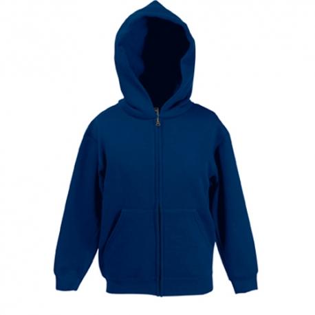 Casaco Premium Sweat Hooded Kids 280g - 70% Algodão / 30% Poliéster