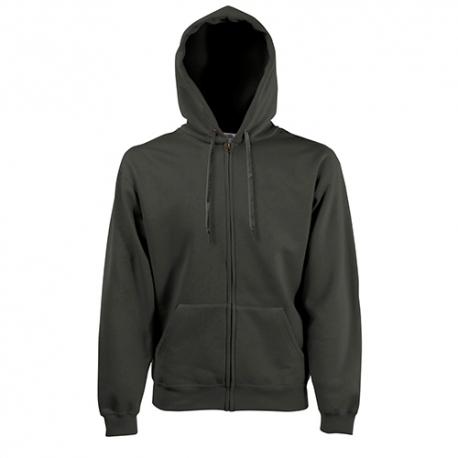 Casaco Classic Sweat Hooded 280g - 80% Algodão / 20% Poliéster