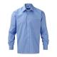 Camisa Manga Comprida Popeline Homem - 65% Poliéster / 35 % Algodão