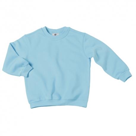 Sweatshirt B&C Set-In Kids 280g - 80% Algodão escovado / 20% Poliéster