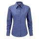 Camisa Manga Comprida Oxford Senhora - 70% Algodão / 30% Poliéster