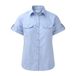 Camisa Manga Curta Senhora - 100% Sarja - Algodão