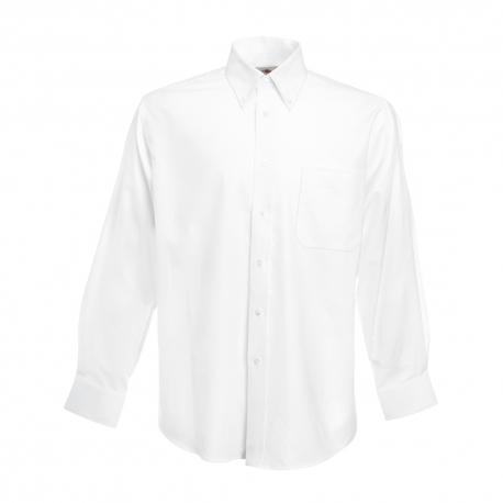 Camisa Manga Comprida Oxford - 70% Algodão / 30% Poliéster