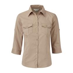 Camisa Manga 3/4 Senhora - 100% Sarja - Algodão
