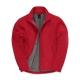 Casaco B&C ID.701 Softshell Men - 96% Poliéster / 4% Elastano