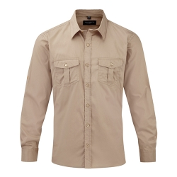 Camisa Manga Comprida Homem - 100% Sarja - Algodão