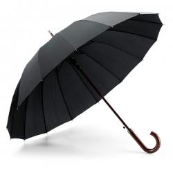 Guarda-chuva de 16 varetas. Abertura automática
