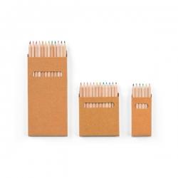 COLOURED.Caixa com 12 lápis de cor.