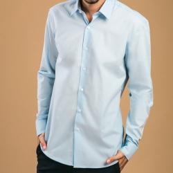 Camisa popelina para homem.